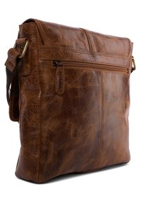 Leabags - EDMONTON - Across body bag - brown - 3