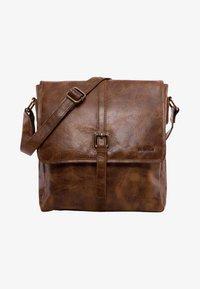 Leabags - EDMONTON - Across body bag - brown - 0