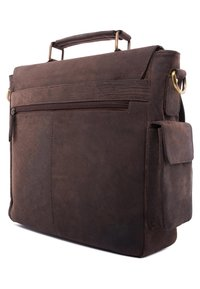 Leabags - AMIENS - Briefcase - brown - 3