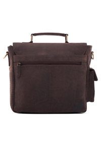 Leabags - AMIENS - Briefcase - brown - 1