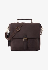 Leabags - AMIENS - Briefcase - brown - 0