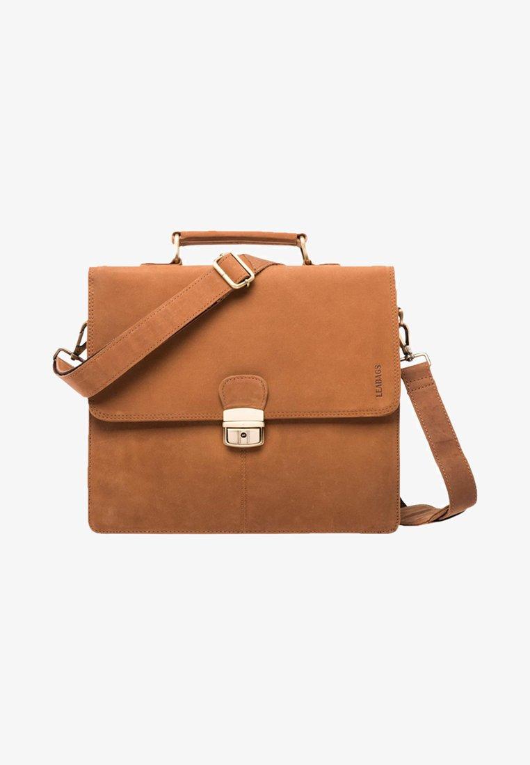 Leabags - HARLEM - Briefcase - brown