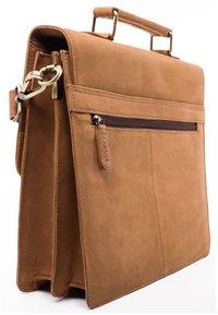 Leabags - HARLEM - Briefcase - brown - 3