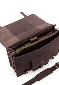 Leabags - Briefcase - nutmeg - 4