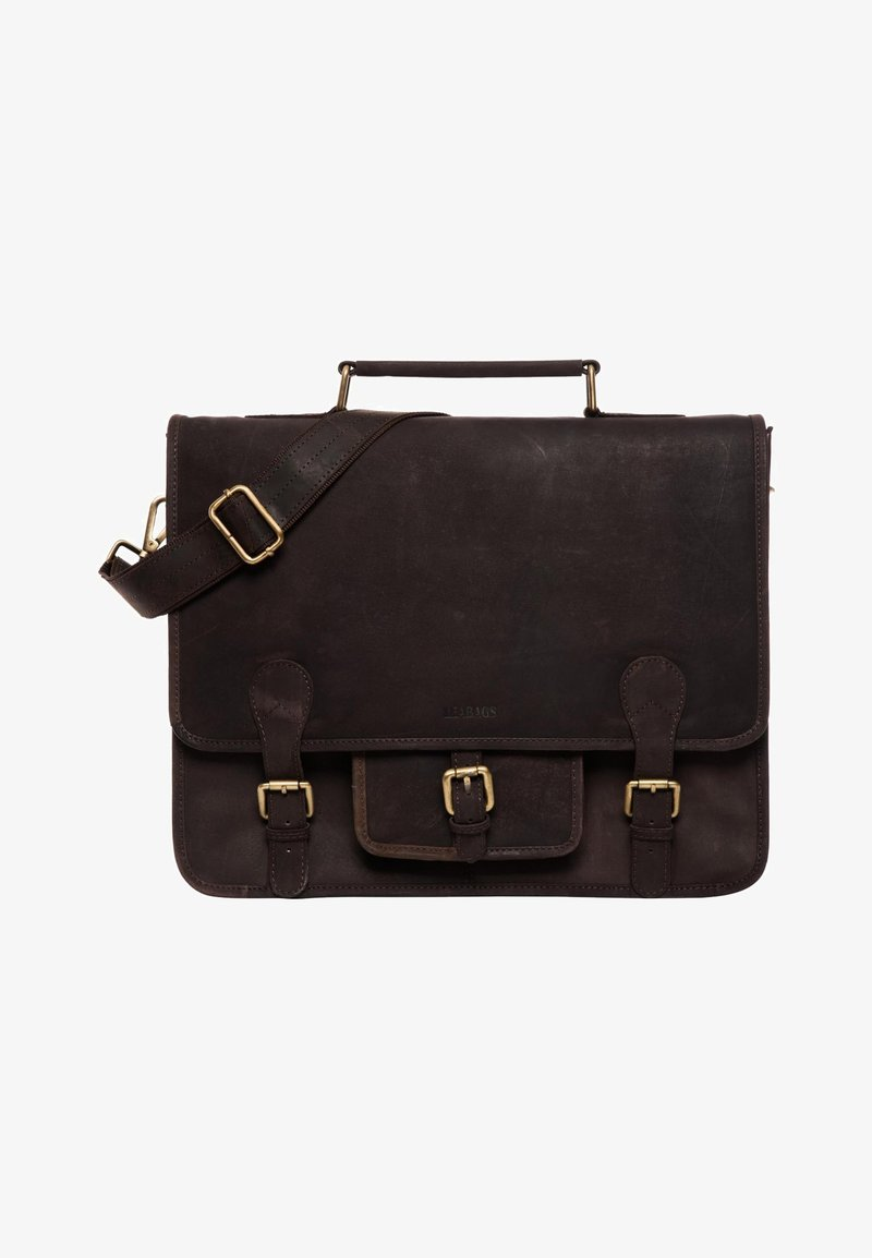 Leabags - Briefcase - nutmeg