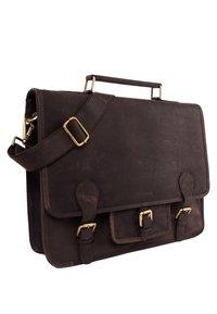 Leabags - Briefcase - nutmeg - 3