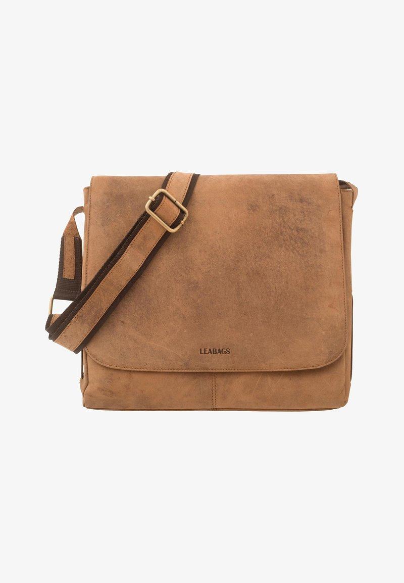 Leabags - Across body bag - brown