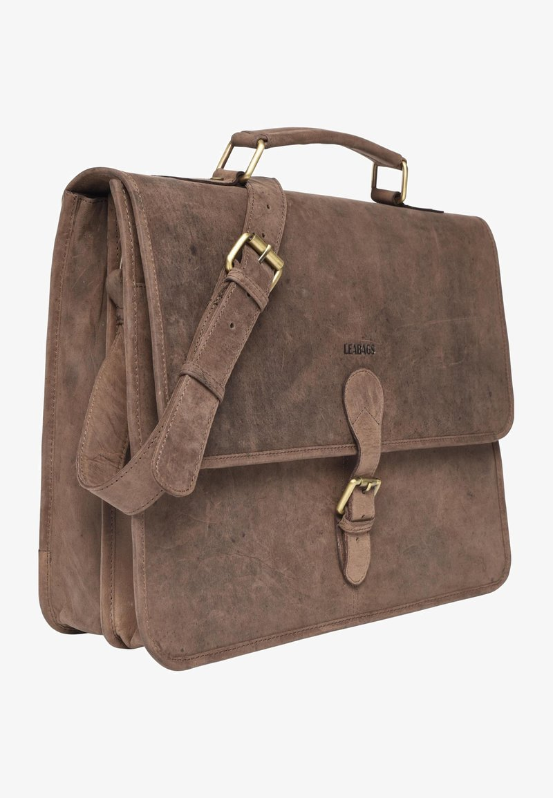 Leabags - CLEARWATER - Briefcase - brown