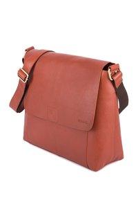 Leabags - Across body bag - cognac - 3