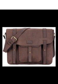 Leabags - POTWIN - Briefcase - muskat - 0