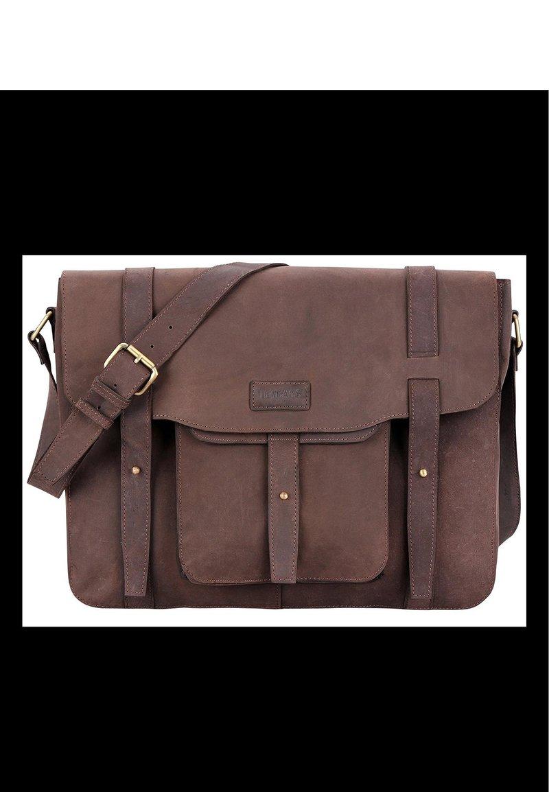 Leabags - POTWIN - Briefcase - muskat