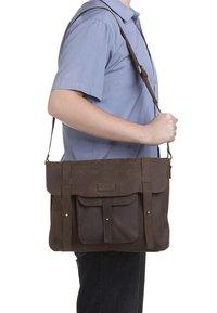 Leabags - POTWIN - Briefcase - muskat - 1