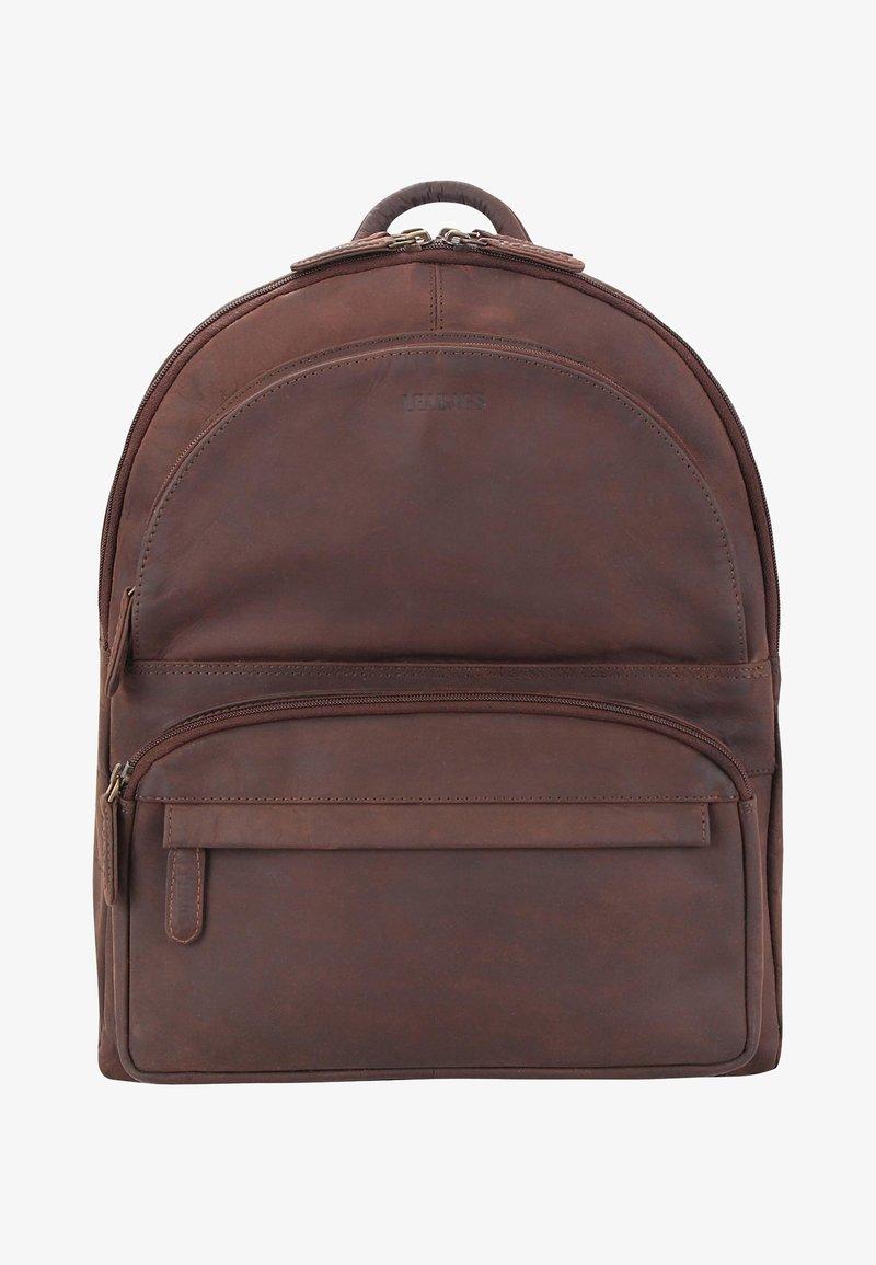 Leabags - Rucksack - brown