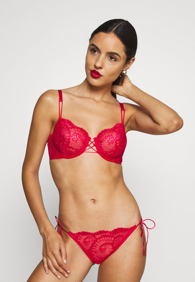 DELILAH UNDERWIRE BRA - Underwired bra - scarlet