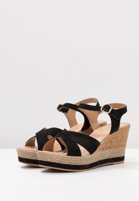 Lazamani - High heeled sandals - nero - 4
