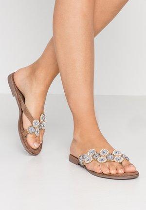 T-bar sandals - offwhite