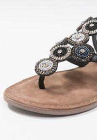 Lazamani - T-bar sandals - black - 2