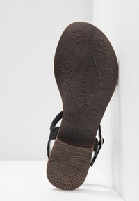 Lazamani - T-bar sandals - black - 6