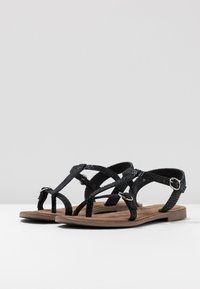 Lazamani - T-bar sandals - black - 4