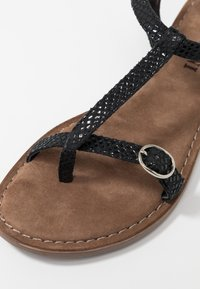 Lazamani - T-bar sandals - black - 2