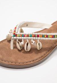 Lazamani - T-bar sandals - white - 2