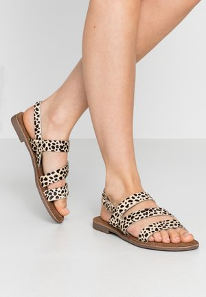 Sandals - white/black
