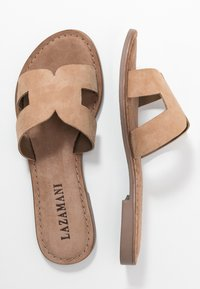 Lazamani - Mules - beige - 3