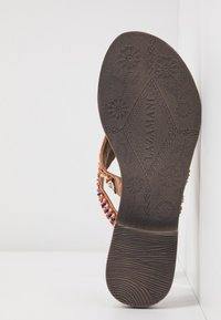 Lazamani - T-bar sandals - tan - 6