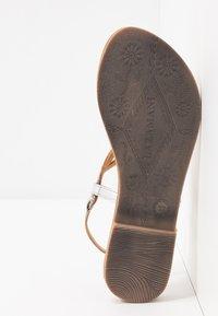 Lazamani - T-bar sandals - silver - 6