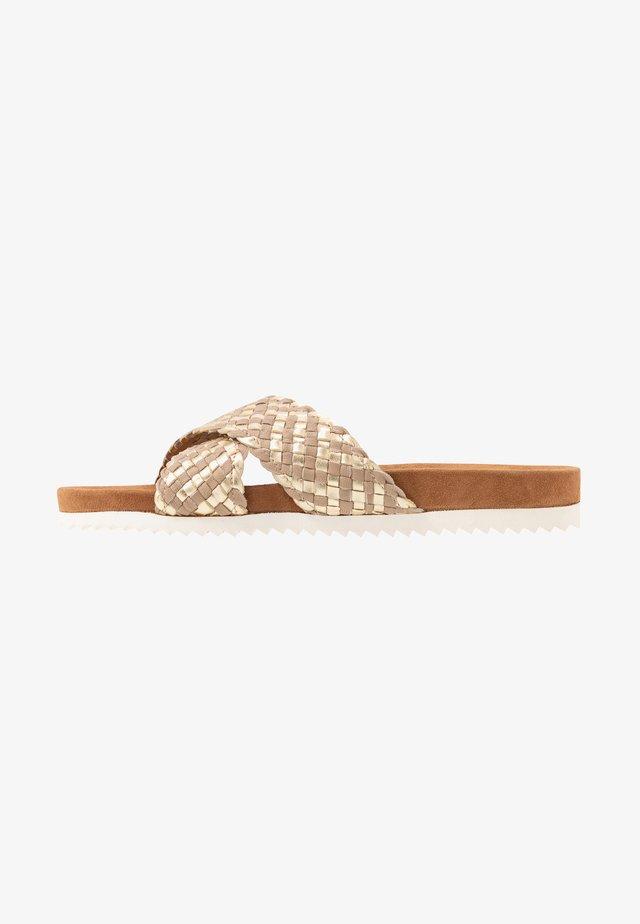 Sandaler - gold/beige