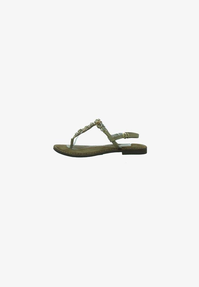 T-bar sandals - grün