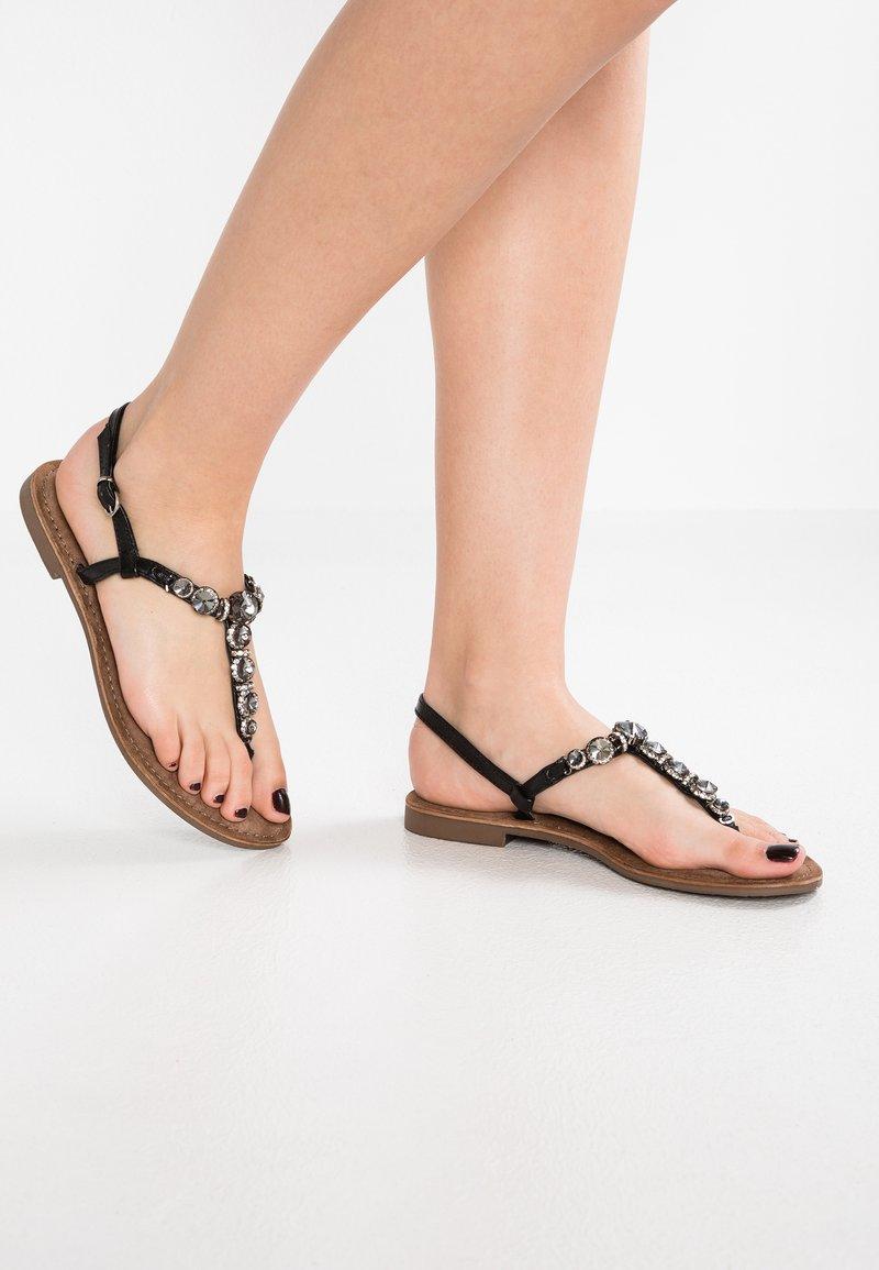 Lazamani - Flip Flops - black