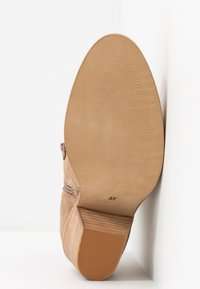 Lazamani - Cowboy/biker ankle boot - taupe - 6