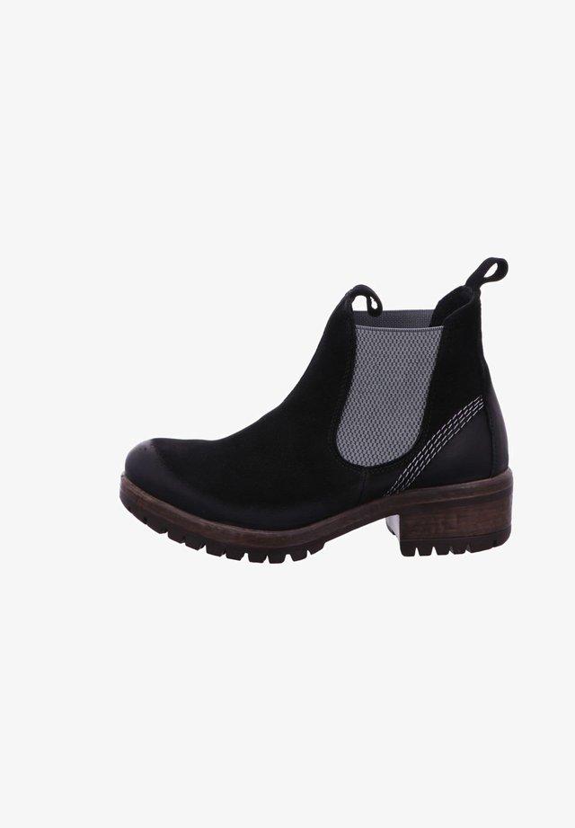 Ankle boots - nerogrey
