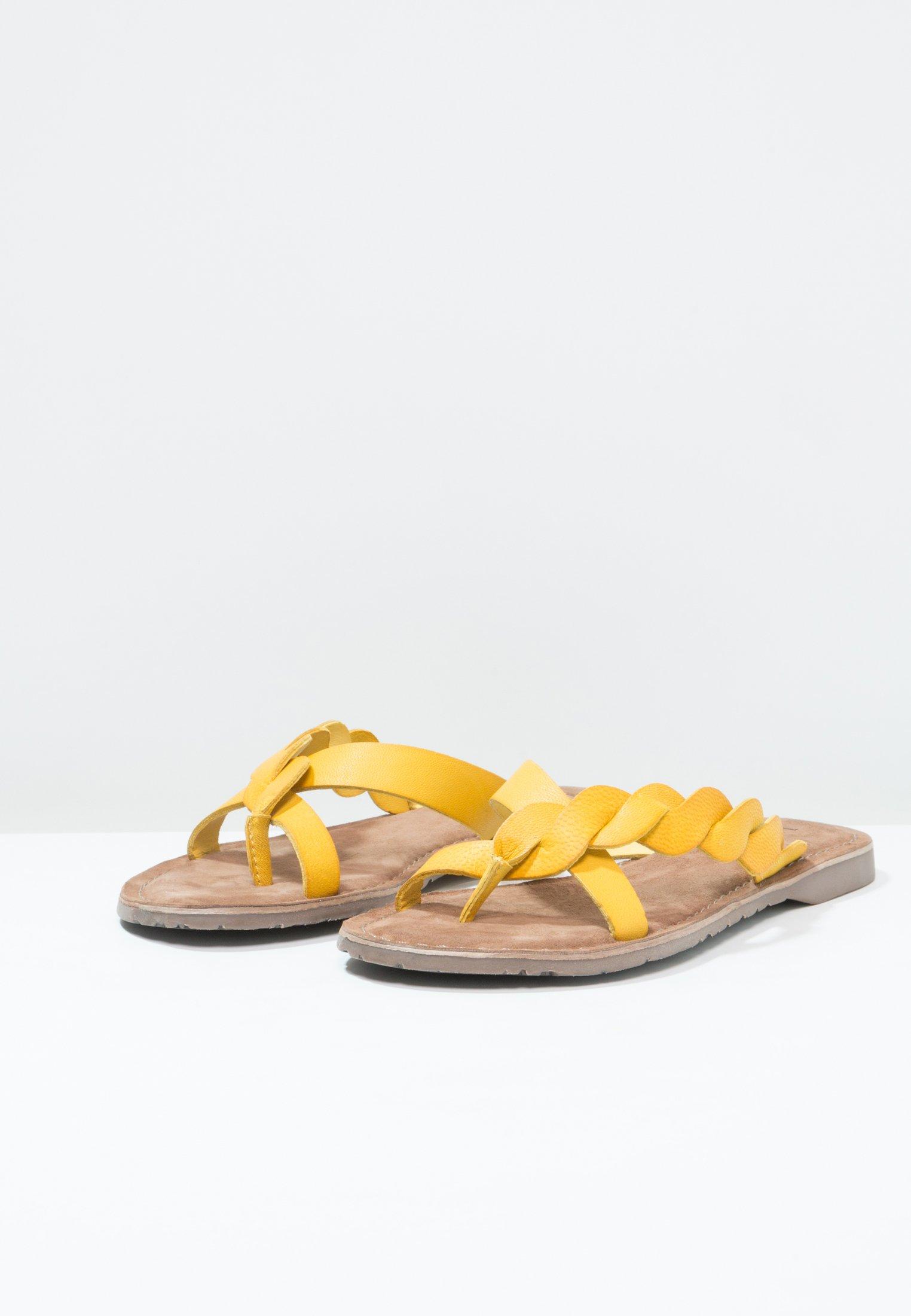 Lazamani Tåsandaler - Yellow