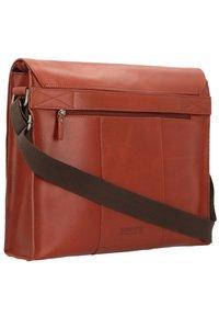 Leonhard Heyden - DAKOTA  - Across body bag - red - 1