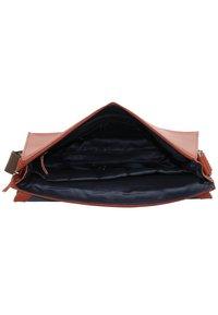 Leonhard Heyden - DAKOTA  - Across body bag - red - 4