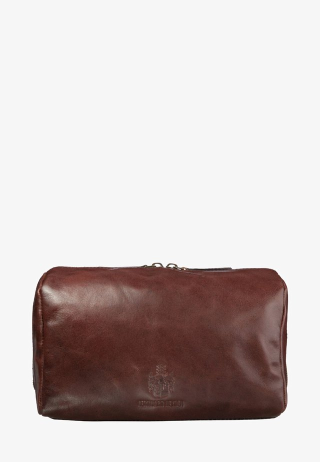 CAMBRIDGE - Wash bag - cognac