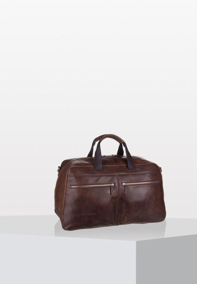 AMSTERDAM - Weekend bag - brown