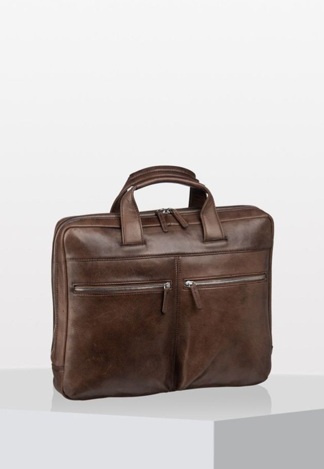 AMSTERDAM  - Briefcase - brown