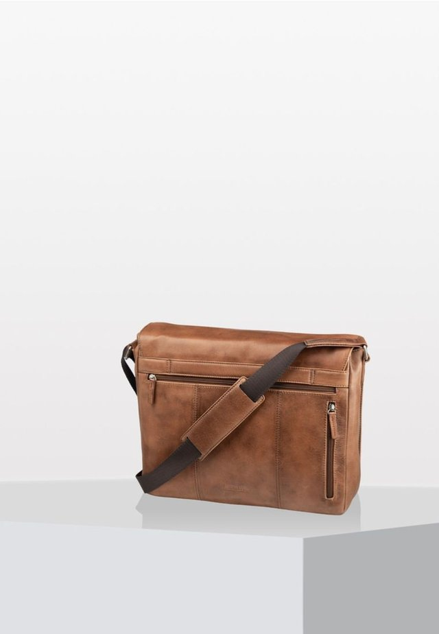 AMSTERDAM  - Across body bag - cognac