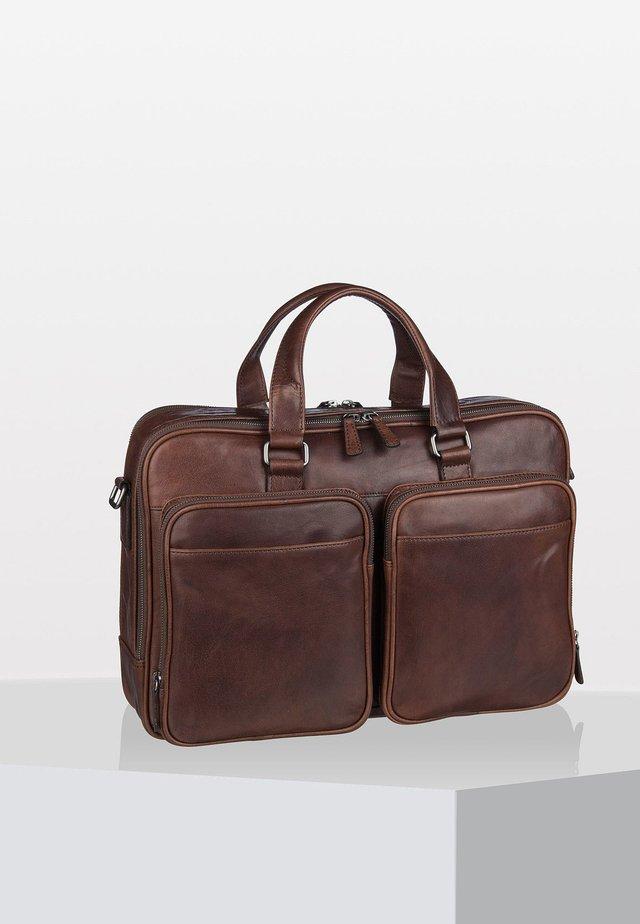 AUSTIN  - Briefcase - brown
