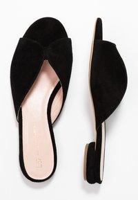 L37 WIDE FIT - MISS STONE LOW WIDE FIT - Pantofle - black - 3