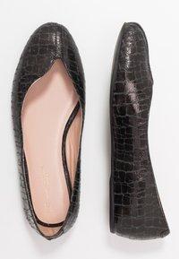L37 WIDE FIT - FOOTLOOSE - Baleríny - black - 3