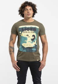 Liger - LIMITED TO 360 PIECES - WILLIAM DALEBOUT - Print T-shirt - green - 0