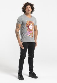 Liger - LIMITED TO 360 PIECES - GILLES VRANCKX - MUSIC - Print T-shirt - lead grey - 1