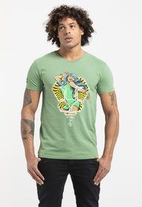 Liger - LIMITED TO 360 PIECES - BUTCHER BILLY - BEAUTY - Print T-shirt - green - 0