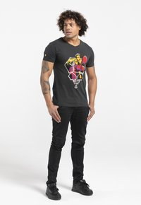 Liger - LIMITED TO 360 PIECES - BUTCHER BILLY - ROCKER - Print T-shirt - charcoal black - 1