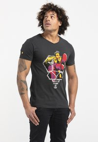 Liger - LIMITED TO 360 PIECES - BUTCHER BILLY - ROCKER - Print T-shirt - charcoal black - 3