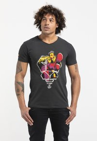 Liger - LIMITED TO 360 PIECES - BUTCHER BILLY - ROCKER - Print T-shirt - charcoal black - 0